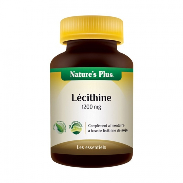 NATURE'S PLUS LECITHINE1200MG 90 CAPSULES