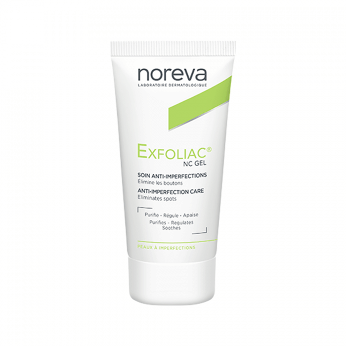 NC GEL SOIN LOCAL 30ML EXFOLIAC NOREVA