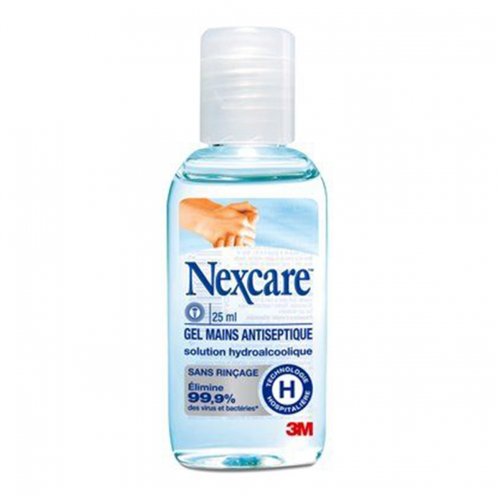 NEXCARE GEL MAINS ANTISEPTIQUE 25ML