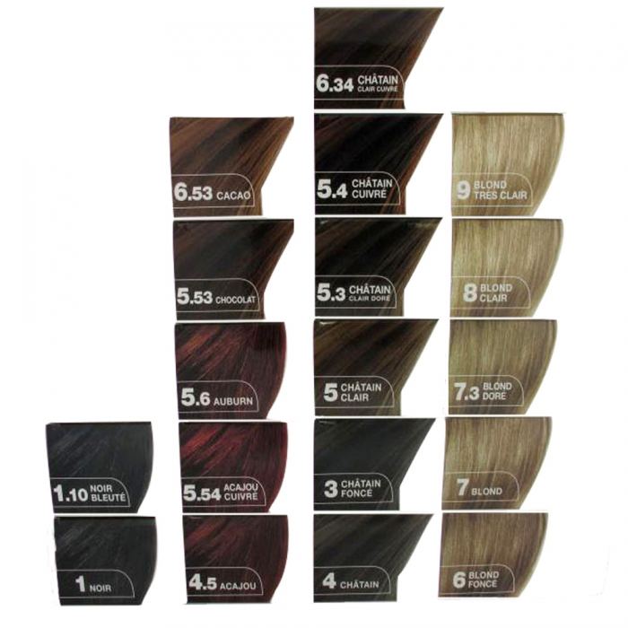 Coloration cheveux 4 5