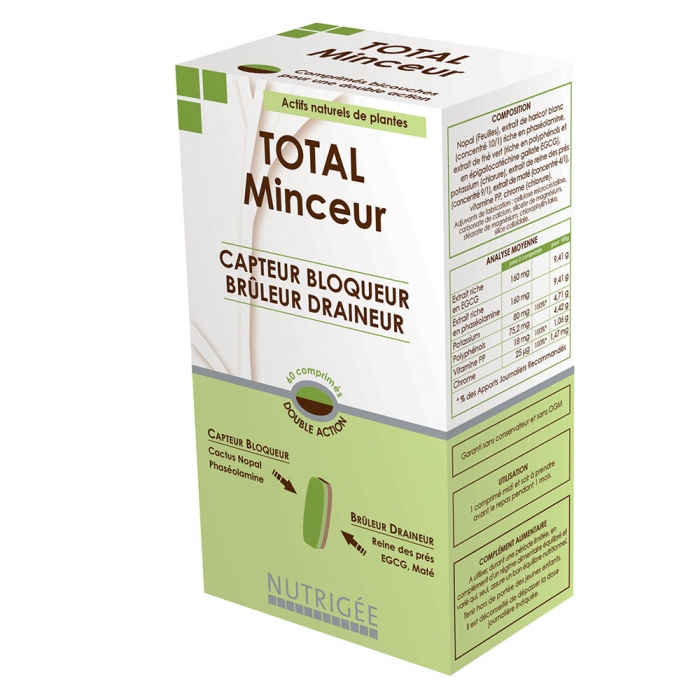 NUTRIGEE TOTAL MINCEUR 60 COMPRIMES