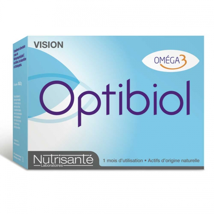 OPTIBIOL VISION - BOITE DE 30 CAPSULES