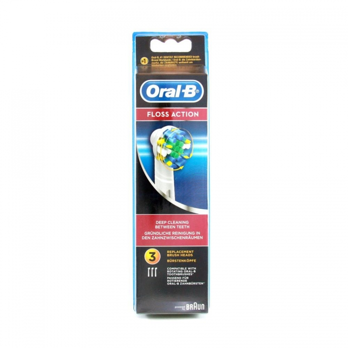 ORAL B FLOSS ACTION 3 BROSSETTES