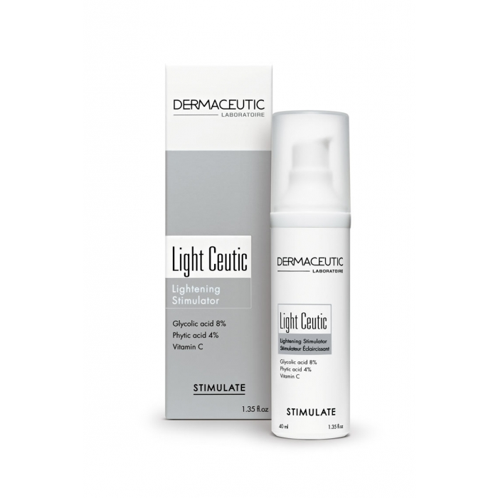 DERMACEUTIC LIGHT CEUTIC CREME DE NUIT UNIFIANTE 40ML