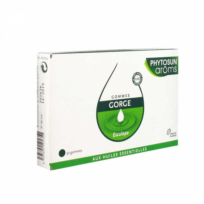 PHYTOSUN GOMMES GORGES ESCULAPE X30