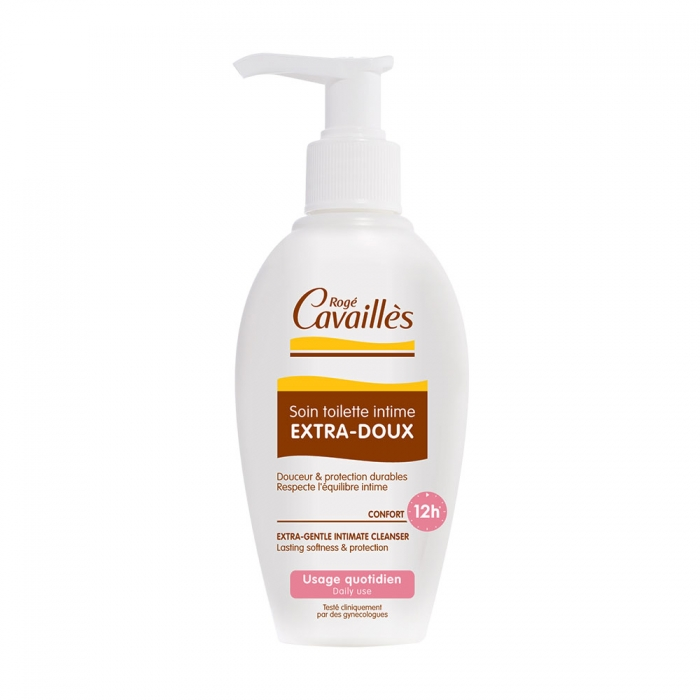 SOIN TOILETTE INTIME EXTRA-DOUX 200ML ROGE CAVAILLES