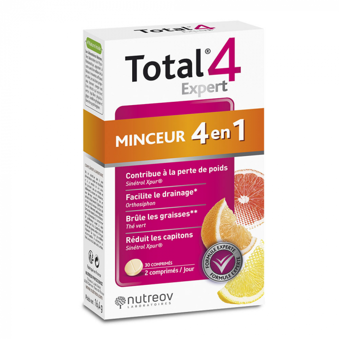 Total 4 Expert Silhouette 30 Comprimes Nutreov