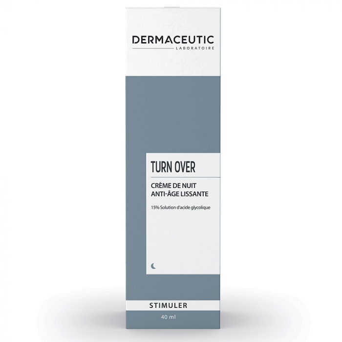 Turn Over Creme De Nuit Stimulante 40ml Dermaceutic