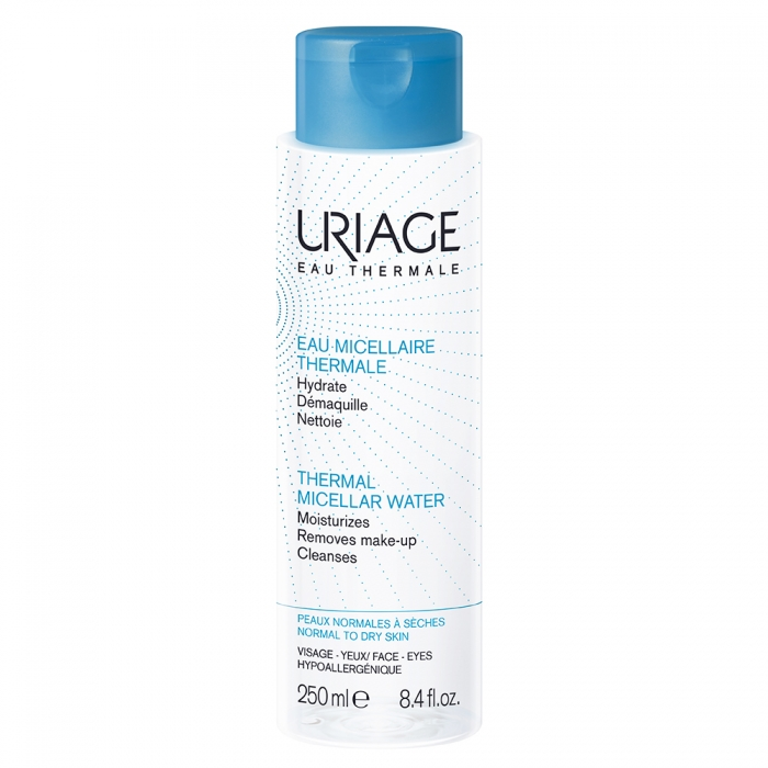 URIAGE EAU MICELLAIRE THERMALE PEAUX NORMALES A SECHES 250ML
