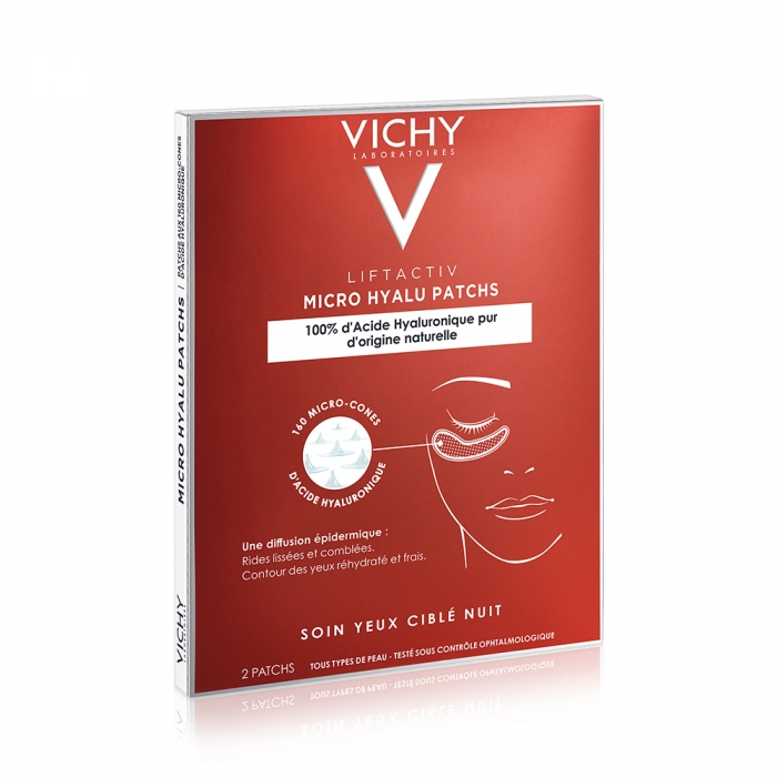 VICHY LIFTACTIV MICRO HYALU PATCHS YEUX 2 PATCHS