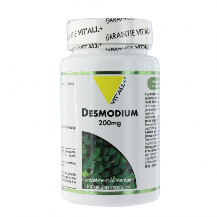 VIT'ALL+ DESMODIUM 200MG 100 GELULES VEGETALES