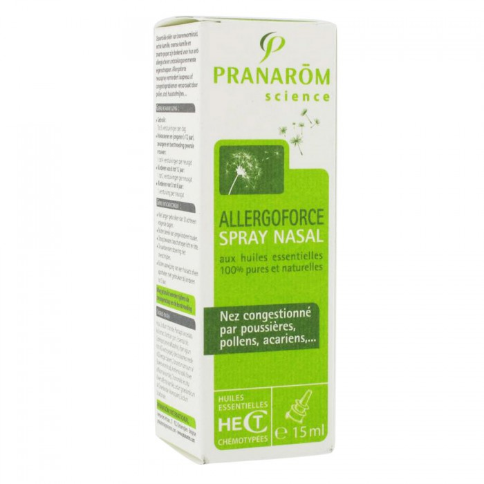 pranarom allergoforce spray nasal 15ml easyparapharmacie. Black Bedroom Furniture Sets. Home Design Ideas
