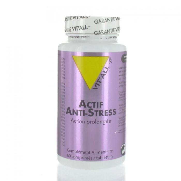 VIT'ALL+ ACTIF ANTI STRESS ACTION PROLONGEE 60 COMPRIMES