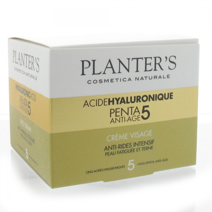 planter s creme visage acide hyaluronique penta5 anti age 50ml. Black Bedroom Furniture Sets. Home Design Ideas