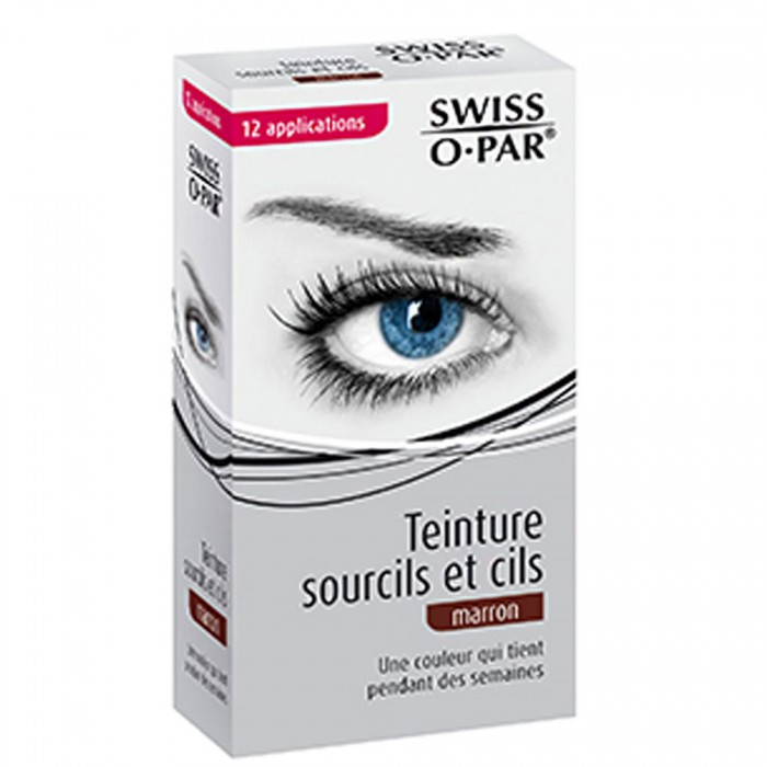 swiss o par swiss o par teinture sourcils et cils 12 applications - Coloration Sourcil