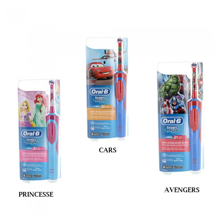 oral b brosse a dents electrique stage power enfant 3 ans. Black Bedroom Furniture Sets. Home Design Ideas
