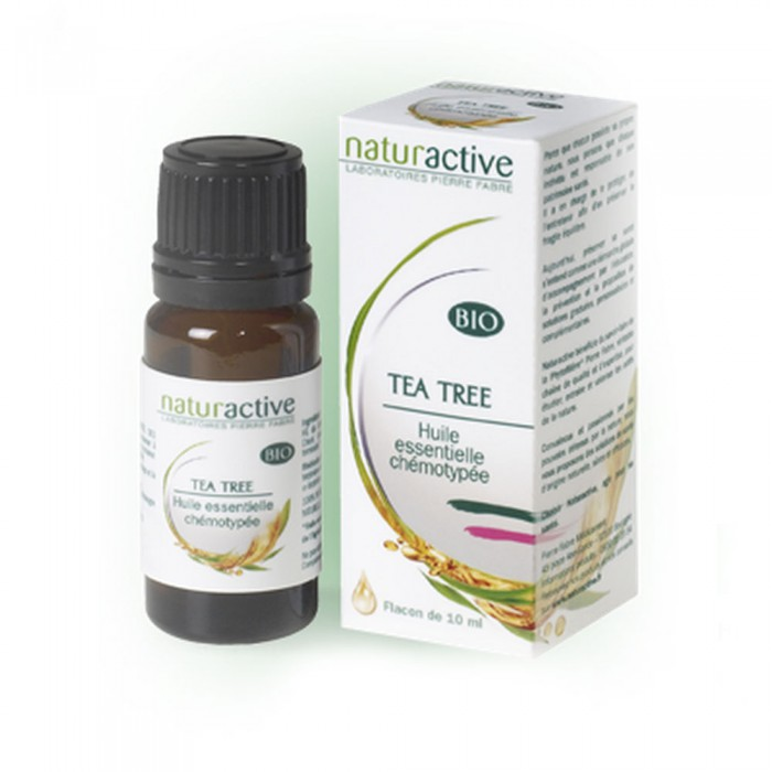 naturactive huile essentielle bio tea tree 10 ml easyparapharmacie. Black Bedroom Furniture Sets. Home Design Ideas