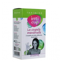 INTI CUP LOT DE 2 COUPELLES MENSTRUELLES