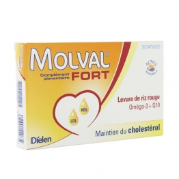 MOLVAL FORT 30 CAPSULES