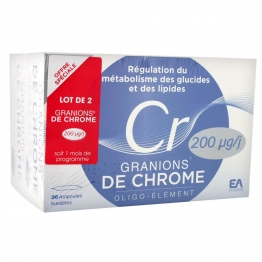 GRANIONS CHROME DUO  200 MICROGRAMME 2X30 AMPOULES DE 2ML