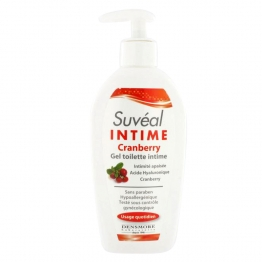 SUVEAL GEL TOILETTE INTIME CRANBERRY 200ML