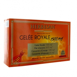 HERBESAN GELEE ROYALE 1500MG 20X15ML