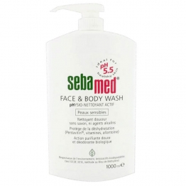 SEBAMED GEL PHYSIO-LAVANT VISAGE ET CORPS 1000ML