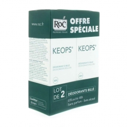 ROC KEOPS DEO BILLE TRANSPIRATION ABONDANTE 2X30ML