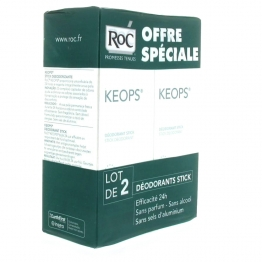 ROC KEOPS DEO STICK EFFICACITE 24H 2x40ML