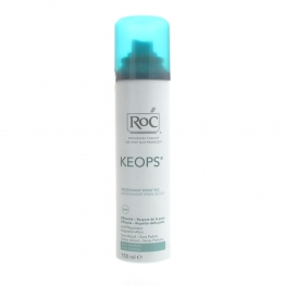 ROC KEOPS DEODORANT SPRAY SEC TRANSPIRATION ABONDANTE 150ML