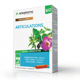 ARTICULATIONS BIO 20 AMPOULES ARKOFLUIDES ARKOPHARMA