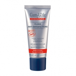 GAMARDE HOMME FLUIDE ANTI-IMPERFECTIONS PEAUX GRASSES A IMPERFECTIONS BIO 40G