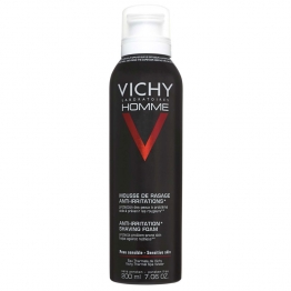 VICHY HOMME MOUSSE A RASER ANTI-IRRITATIONS PEAUX SENSIBLES 200ML