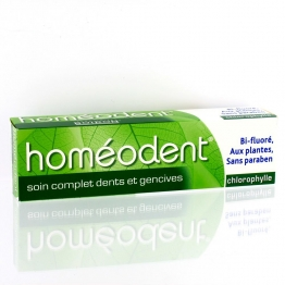 HOMEODENT SOIN COMPLET DENTS ET GENCIVES CHLOROPHYLLE 75ML