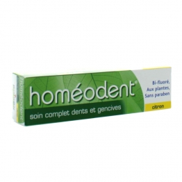 HOMEODENT SOIN COMPLET DENTS ET GENCIVES CITRON 75ML