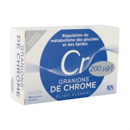 GRANIONS CHROME 30 AMPOULES DE 2ML