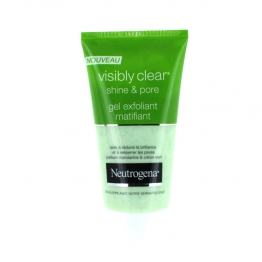 NEUTROGENA VISIBLY CLEAR SHINE AND PORE GEL EXFOLIANT MATIFIANT 150ML