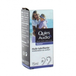 QUIES AUDIO APAISER HUILE LUBRIFIANTE 15ML