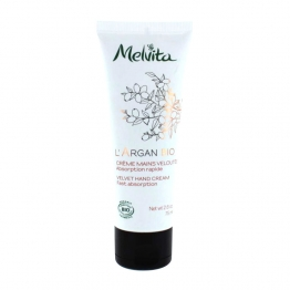 MELVITA CREME MAINS VELOUTEE A L'HUILE D'ARGAN 75ML