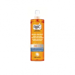 ROC SOLAIRE PROTECT SPRAY ANTI AGE PROTECTION INVISIBLE SPF30 150ML