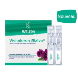 WELEDA VISIODORON MALVA SOLUTION OPHTALMIQUE EN MONODOSE X20