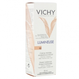 VICHY LUMINEUSE CREME TEINTEE PEAUX NORMALES A MIXTES 30ML