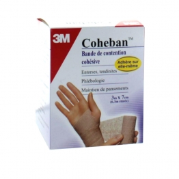 3M COHEBAN BANDE DE CONTENTION COHESIVE CHAIR 3X7 CM