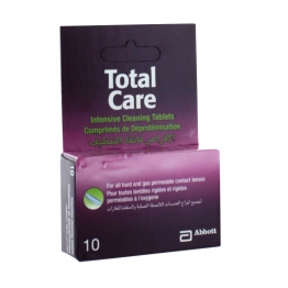 AMO TOTAL CARE 10 COMPRIMES DE DEPROTEINISATION