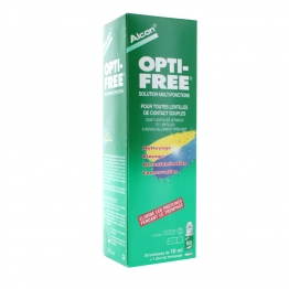 ALCON OPTI FREE SOLUTION MULTI FONCTIONS 30 UNIDOSES 10 ML