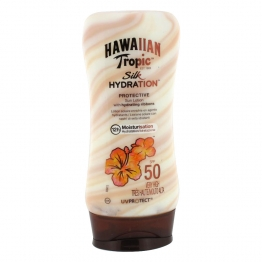 HAWAIIAN TROPIC SILK HYDRATION LOTION HYDRATANTE SPF50 180ML