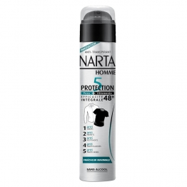 NARTA HOMME DEODORANT ANTI-TRANSPIRANT PROTECTION 5 SPRAY 200ML