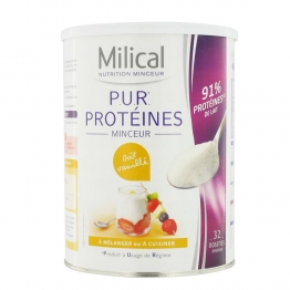 MILICAL PROTEINES MINCEUR GOUT VANILLE 400G