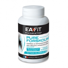 EAFIT PURE FORSKOLINE AMINCISSEMENT GLOBAL SILHOUETTE 60 GELULES