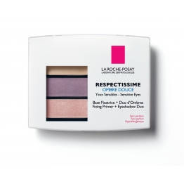 LA ROCHE-POSAY RESPECTISSIME YEUX OMBRE DOUCE 04 SMOKY PRUNE